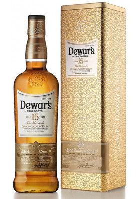 Whisky Dewars 15 anos The Monarch 750ml Lata