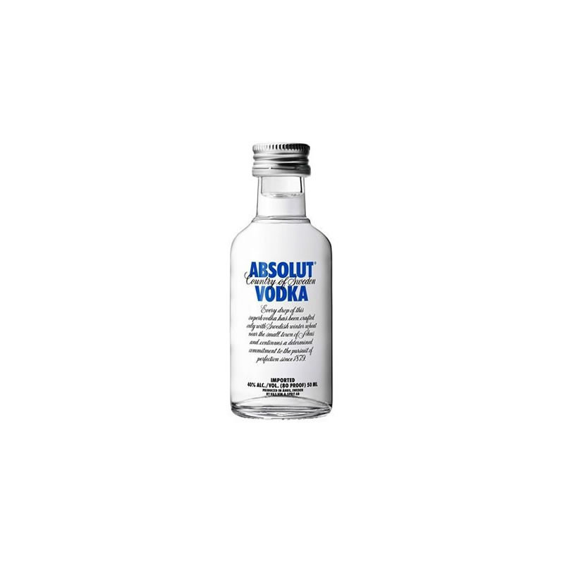 Vodka Absolut Original 50ml (miniatura)
