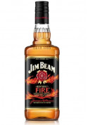 Whisky Jim Beam Fire 1000 ml