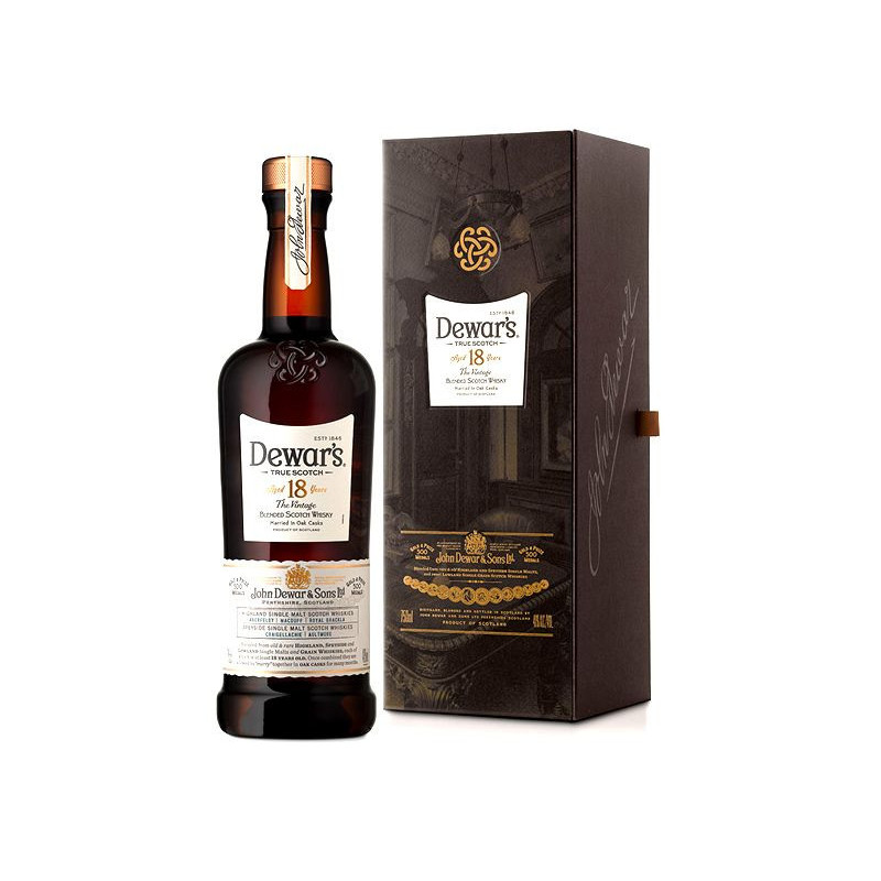Whisky Dewars 18 Anos 750 ml