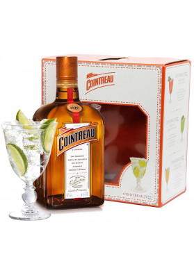Kit Cointreau Taça 700 ml