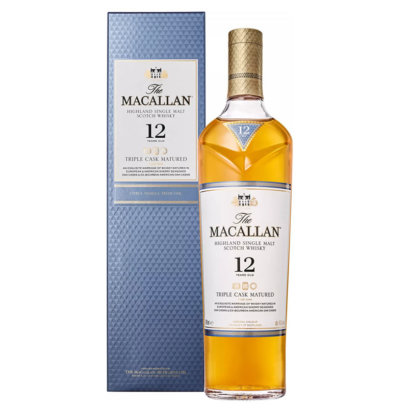 Whisky The Macallan 12 anos 700 ml