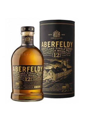 Whisky Aberfeldy Single Malt 12 Anos 750 Ml