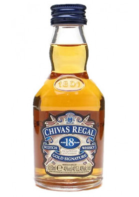 Whisky Chivas Regal 18 anos 50 ml (miniatura)