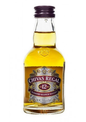 Chivas Regal 12 Anos 50ml (miniatura)