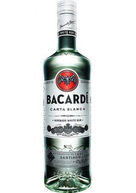 Rum Bacardi Superior Carta Blanca - 980ml