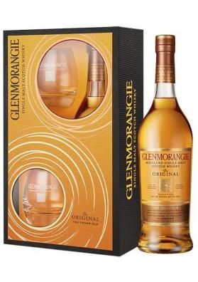 Glenmorangie 10 anos 750 ml com 2 copos - Single Malt