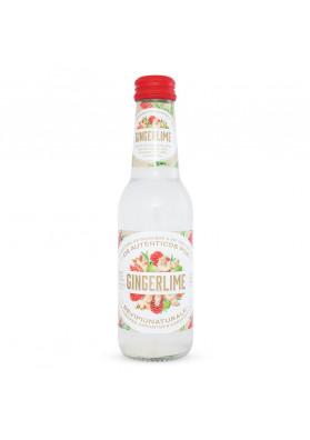 Refrigerante Italiano Bevi Più Naturale Gingerlime Garrafa 200 mL