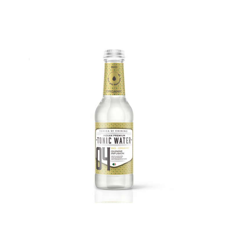 Aguá tônica Bevi Più Premium indian Tonic Water Garrafa 200 mL