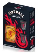 Kit FireBall + 2 Copos Shot 750 ml