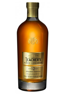 Teachers 12 Golden Thistle 750ml