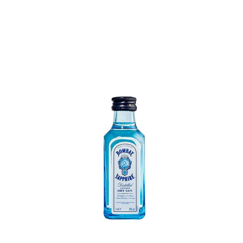 Miniatura Gin Bombay Sapphire 50 ml