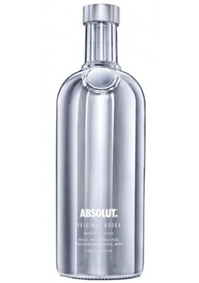 Vodka Absolut Electrik Prata 1000ml
