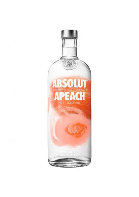 Vodka Absolut Apeach 1000ml