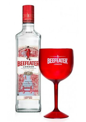 Kit Gin Beefeater London Dry 750ml + 1 Taça