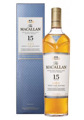 MACALLAN TRIPLE CASK MATURED 15 ANOS 700 ML