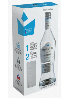 Vodka Ministry Black Edition 700ml