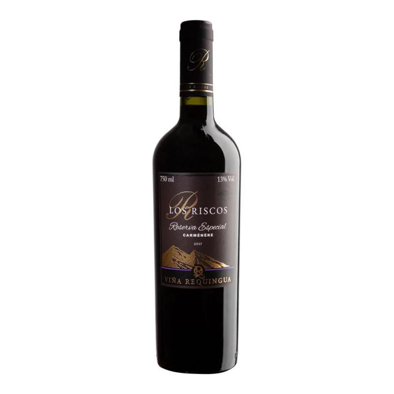 Vinho Tito Los Riscos Reserva Especial Carménère 750ml