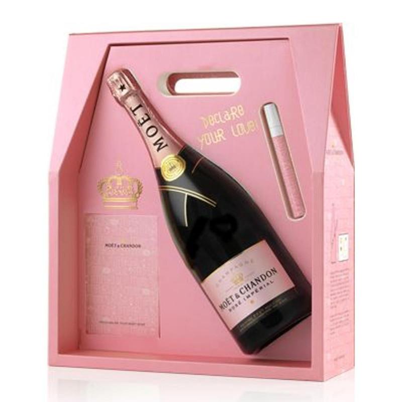 Champagne Moët & Chandon Rosé Impérial Tag Your Love 1,5lt.