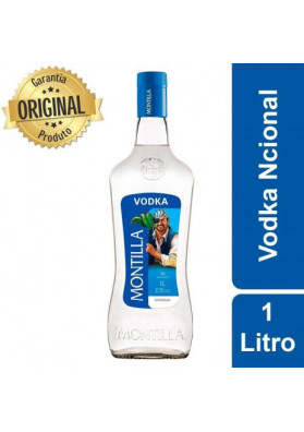 Vodka Nacional Montilla Garrafa 1 Litro