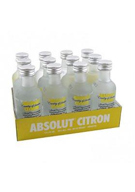 Kit 12 Miniatura Absolut citron 50 ml