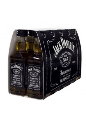 Kit 10 Miniaturas Whisky Jack Daniel's 50ml