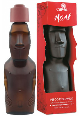 Pisco Capel Moai Reservado 1000ml