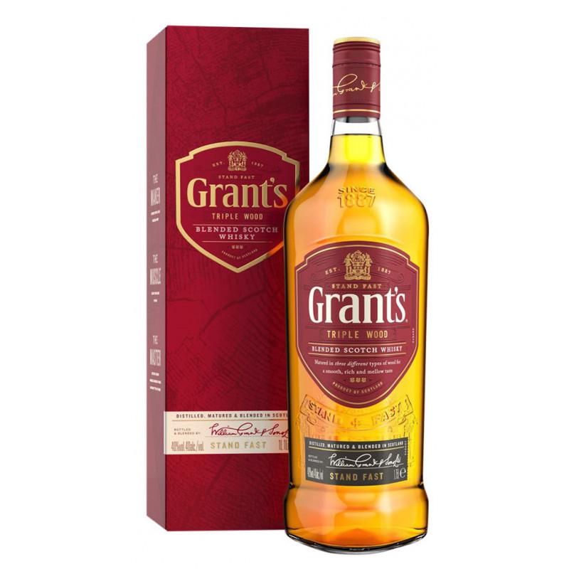 Whisky Grant's Escocês 8 Anos 1 Litro