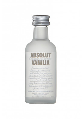 Vodka Absolut Vanilia 50ml (miniatura)