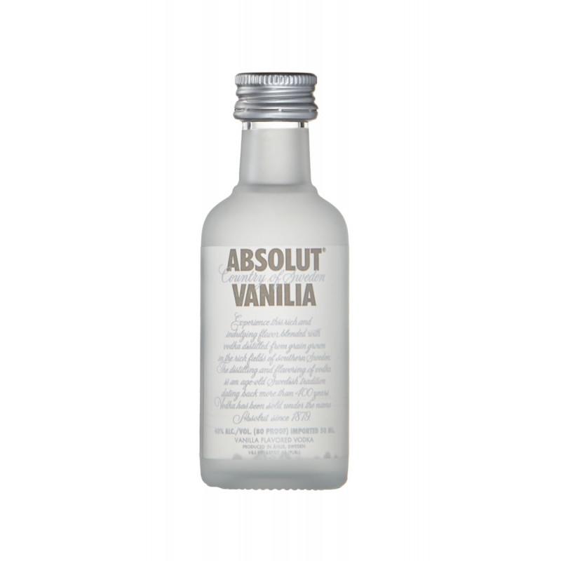 Vodka Absolut Vanilia 50ml (miniatura)