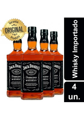 Kit Mini Jack Daniels 375ml - 4 Garrafas