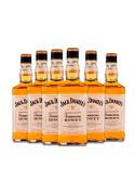 Kit Whisky Jack Daniels Honey 1Litro - 6 Garrafas