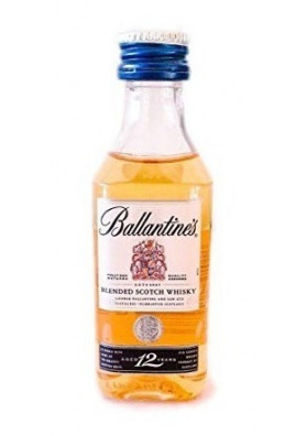 Miniatura Whisky Ballantine's 12anos 50ml