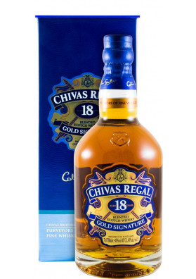 Whisky Chivas Regal 18 anos 750 ml