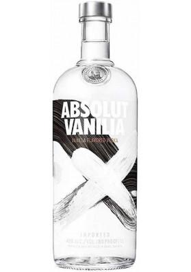 Vodka Absolut Vanilia 1000ml