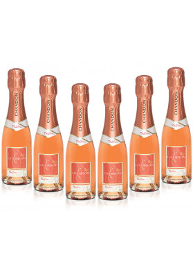 Kit 6 ESPUMANTE BABY CHANDON PASSION ON ICE ROSE 187ML