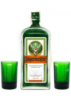 JAGERMEISTER 700ML C/ 2 COPOS SHOT
