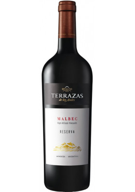 VINHO TERRAZAS RESERVA MALBEC ARGENTINA 750 ML