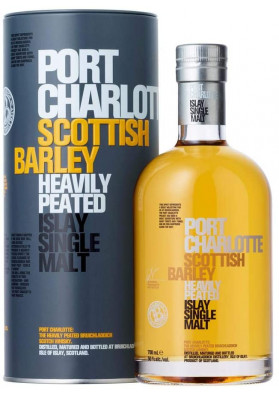 Whisky Bruichladdich Port Charlotte Scottish Barley 700 ml - Single Malt