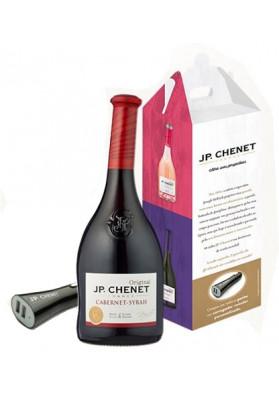 Kit 1 JP Chenet Cabernet-Syrah 750ml + 1 carregador veicular para celular