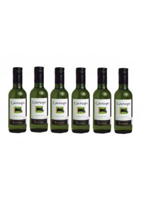 Kit 12 Vinho Chil. Branco Gato Negro Sauvignon Blanc 187,5 ml