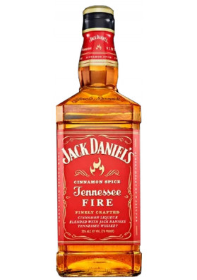 Whisky Jack Daniels Fire Canela 1000 ml