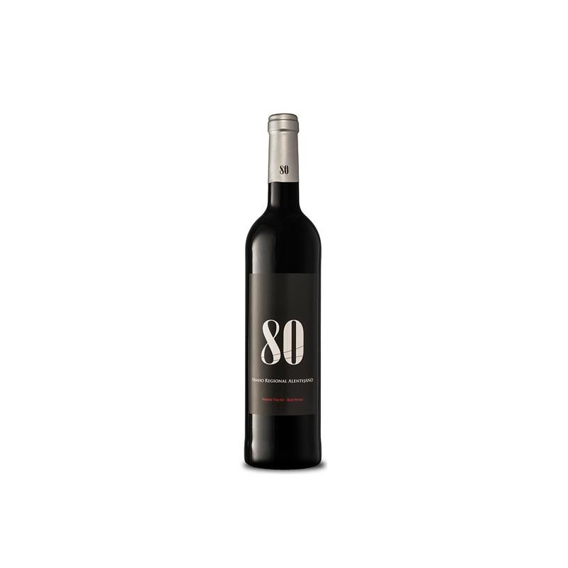 80 Regional Alentejano Red Wine 750 ml.