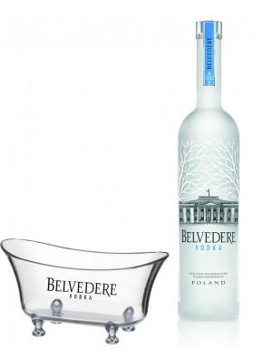Kit Vodka Belvedere Pure 700 ml + Banheira Personalizada