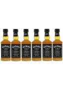 Kit Whisky Jack Daniels 200ml - 6 Garrafas