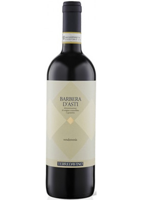 V. Ital. Barbera D' Asti Terrdavino DOCG 750 ml.