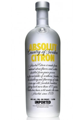 Absolut Citron 1000 ml