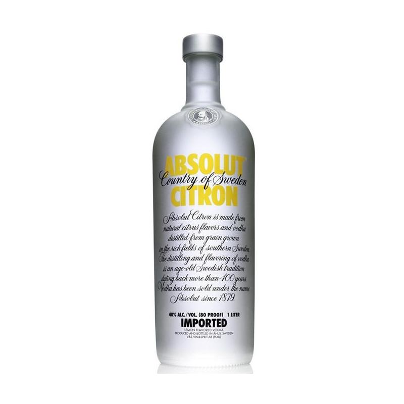 Absolut Citron 1000 ml