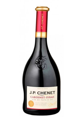 JP Chenet Cabernet-Syrah Vin de Pays d'Oc IGP 750 ml.