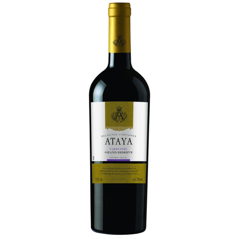 Ataya Grand Reserve Carmerere 750 ml.